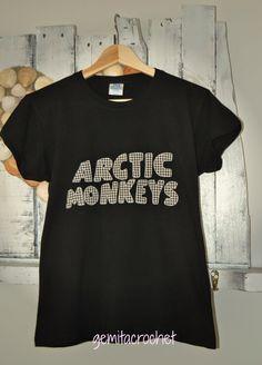 GEMITA CROCHET : Camiseta decorada patchwork