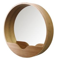 Round Wall mirror from Zuiver