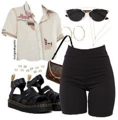 cinema outfit Filmmaking - -You can find Filmmaking and more on our website. Komplette Outfits, Retro Outfits, Cute Casual Outfits, Grunge Outfits, Stylish Outfits, Fashion Outfits, School Outfits, Cinema Outfit Casual, Polyvore Outfits Casual