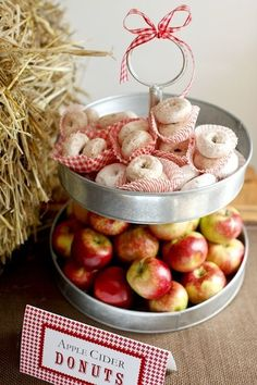 Apple Orchard Wedding Inspiration - Cider Donuts