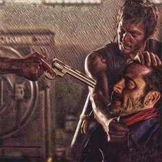 Daryl & Negan   The Walking Dead (AMC)