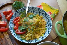 CURRIED CHICKEN with COCONUT RICE // shutterbean Made this and it was SO good!