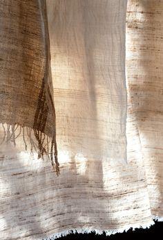 ババグーリ本店「アッサムの野蚕シルクのストール」4月23日(木)-28日(火) 紅茶の産地として馴染みのあるインドのアッサム州は、世界有数のシルクの産地でもあります。一般的な養蚕ではなく、野生に生息する蚕を採集し、その繭から糸がつくられています。蚕の種類、食べる葉によっても繭の色や硬さが異なり、様々な個性をもちます。 中でもムガと呼ばれるシルクはアッサムにのみ生息する野蚕からできる希少なもの。繭そのものが金色をしているため、昔から珍重されてきました。 シルクを丁寧に手紡ぎし、糸切れのないよう細心の...