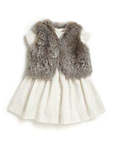 Bonpoint - Baby's Fur Vest