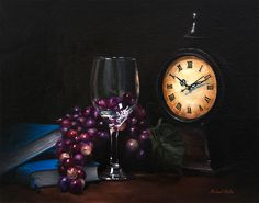 """Still Life, """"Taking Time"""" 14x11 oil on canvas. Purchase Original or Prints"""