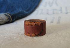 Leather Ring idea.
