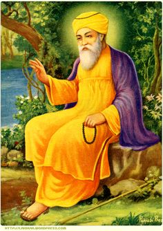 Guru Nanak Dev Ji - The First and the Founding-Guru of The Sikh-Faith