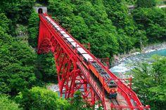 黒部峡谷鉄道 Kurobe Gorge Railway