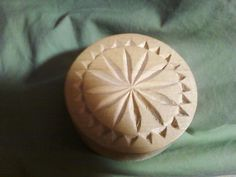 My chip carved star