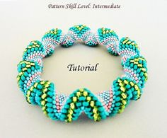 PROJECT SKILL LEVEL: intermediate LANGUAGE: English  This is a DIGITAL FILE only. No beads and no finished product are included in this sale.