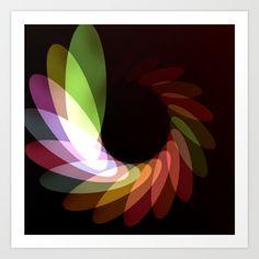 Elliptical Motion print by Eric Rasmussen Cool Wall Art, Cool Walls, Art Prints, Cool Stuff, Abstract, Artwork, Art Impressions, Art Work, Work Of Art