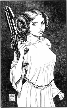 Princess Leia: Art by Arthur Adams