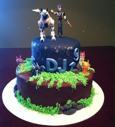 Slugterra Birthday Cake!
