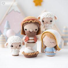 Amigurumi Doll, Amigurumi Patterns, The Nativity Story, Amigurumi Tutorial, Three Wise Men, Christmas Minis, Crochet Christmas, Son Of God, Crochet Blanket Patterns
