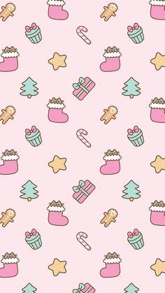 Pusheen Christmas background