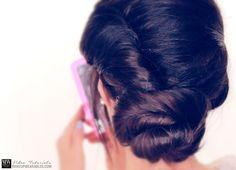 BEST11 out2 darker Disneys  Frozen Hairstyle   Elsas Coronation Updo Tutorial Video