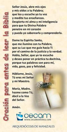Catholic Prayers In Spanish, Psalm 139, Prayer Board, Dear God, Religion, Faith, Thoughts, Feelings, Words