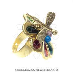 Customize & Buy Evil Eye Fashion Jewelry Bijou Rings Online at Grand Bazaar Jewelers