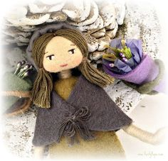 Amelie Rose artisan doll inspired by Provence by Verity Hope