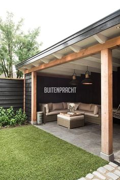 amazing outdoor patio ideas that you need to try this summer 3 > Fieltro.Net 47 Amazing Outdoor Patio Ideas That You Need to Try This Summer > Fieltro. Cheap Patio Furniture, Backyard Design, Patio Design, Patio Trends, Outdoor Patio Decor, Diy Backyard, Pergola Designs, Diy Garden Furniture