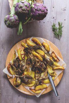 Tortino di carciofi e speck, ricetta antipasti | Antipasto, Cucina and ...