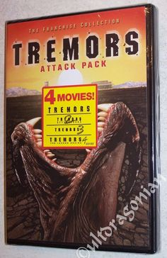 TREMORS 1 2 3 4 DVD Movie Set Collector's Pack BRAND NEW Ships FREE All 4-Movies