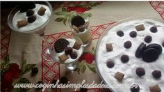 Cozinha Simples da Deia: Pavê cheesecake de Oreo
