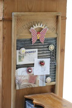 jbs inspiration: Repurposed Washboard by Betsy Sammarco