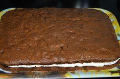 Prajitura cu crema de ciocolata alba | MiremircMiremirc Cooking Recipes, Desserts, Food, Tailgate Desserts, Deserts, Chef Recipes, Essen, Postres, Dessert
