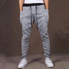 Drop Crotch Joggers