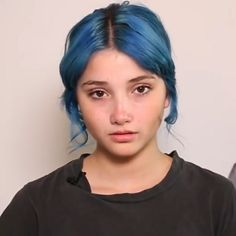 Dyed Hair Blue, Pink Hair, Funky Hairstyles, Aesthetic Hair, Attractive People, Dream Hair, Hair A, Hair Inspo, Hair Goals