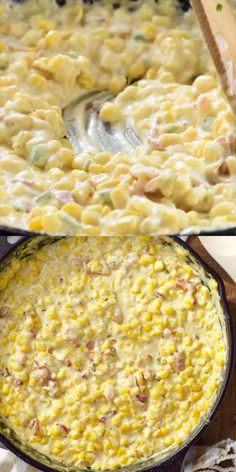Jalapeno Cream Corn Such an easy and delicious side dish that everyone loves!Bacon Jalapeno Cream Corn Such an easy and delicious side dish that everyone loves! Vegetable Side Dishes, Vegetable Recipes, Jalapeno Cream Corn, Jalapeno Bacon, Dinner Side Dishes, Side Dishes With Tacos, Side Dishes For Brisket, Easy Side Dishes, Side Dishes