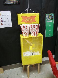 Popcorn machine!  Jennifer Jackson, Manor ISD