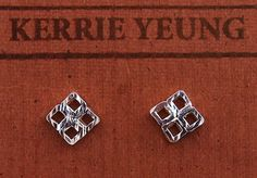 4square earrings