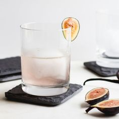 Figs might not seem like they have a place in cocktails, but they add a sweet touch to this mix. Combined with vanilla syrup and orange bitters, it's refreshing to the max.  Get the recipe at The Homemade Haus.