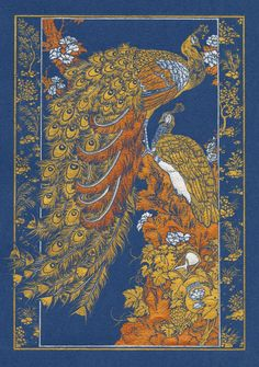 Binding Design // The scan of course loses the metallic appearance of the original. The colours are in fact gold, silver, and copper; rather than yellow, orange and white.
