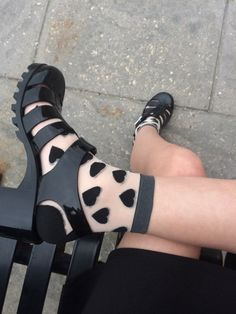 Heart socks …