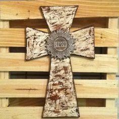 Blessed wooden cross for Zandra.