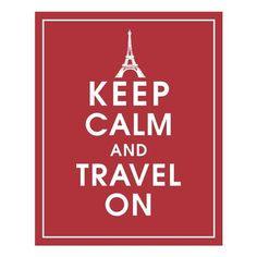 Keep calm and travel on...#JetsetterCurator