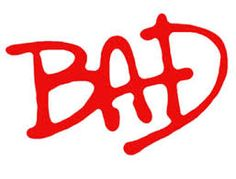 Resultado de imagem para michael jackson bad logo