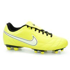 Chuteira Masculina de Campo Nike Egoli - Amarelo Chuteira Futsal 8f27236470232