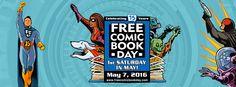 Free Comic Book Day 2016 – The Comics | Geek Girl Pen Pals Club #IGGPPC #FCBD