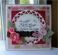 Card by Marisa Ritzen using Verve Stamps.