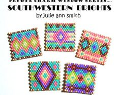 off loom beading techniques Beaded Bracelets Tutorial, Bead Loom Bracelets, Beaded Bracelet Patterns, Peyote Patterns, Beaded Necklace, Weaving Patterns, Jewelry Patterns, Beading Projects, Bracelets