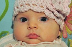 Aesthetic Nest: Crochet: Best Baby Cloche and Tutorial