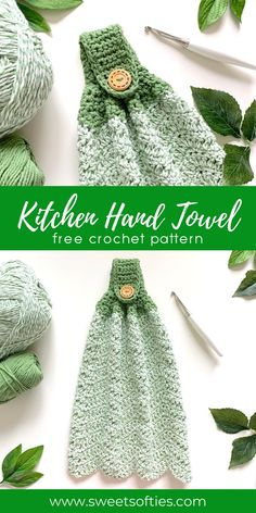 Crochet Dish Towels, Crochet Towel Topper, Crochet Kitchen Towels, Knit Kitchen Towel Pattern, Crochet Towel Holders, Kitchen Hand Towels, Crochet Gifts, Knit Crochet, Dishcloth Crochet