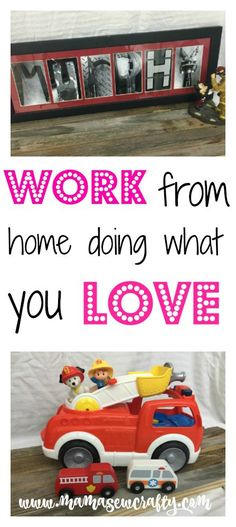 Have you ever wanted to work from home and be your own boss? It is totally possible to just said that and do what you love!