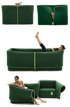 Sosia - a convertible sofa by an Italian furniture brand Campeggi  http://www.campeggisrl.it