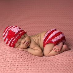 $22.99 This Stripes and Hearts Hat and Diaper Cover Set for Newborn Girls from Melondipity is so lovely for your newborn girl. Love is in the air with this sweet hat and diaper cover set. This set is featured in pink and red stripes with two hand appliqued hearts on the hat in red and pink.I found this on www.melondipity.com