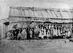 Reid's Creek School, near Historic Beechworth, Victorian Gold Fields, History of Gold mining, Pioneering Families of Australia, children on the goldfields, did children go to school on the goldfields.  where there children on the goldfields.